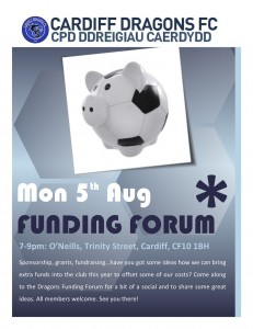 Dragons Funding Forum