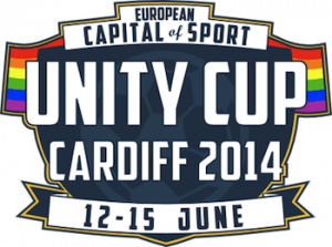 Our lovely Unity Cup logo